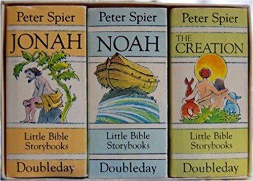 Peter Spier's Little Bible Storybooks--The Creation, Noah, Jonah: Spier, Peter