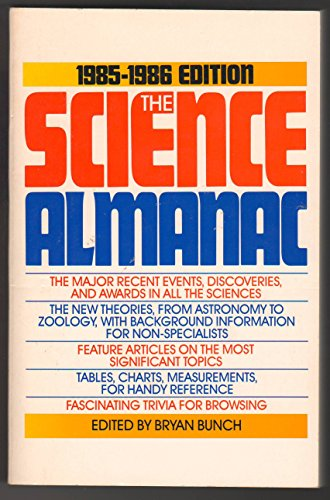 Science Almanac, 1985-1986 (0385193203) by Bunch, Bryan