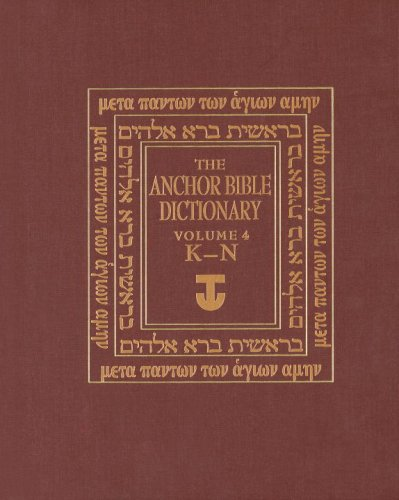 The Anchor Bible Dictionary: David Noel Freedman;