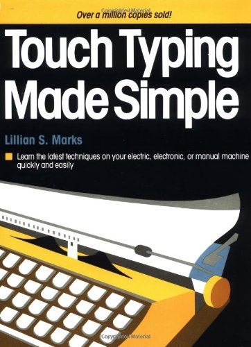 9780385194266: Touch Typing Made Simple