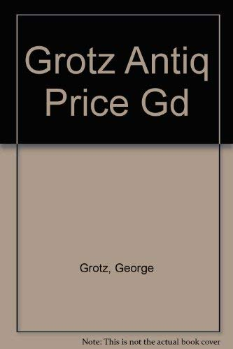 9780385195140: Grotz Antiq Price Gd