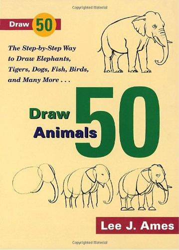9780385195195: Draw 50 Animals