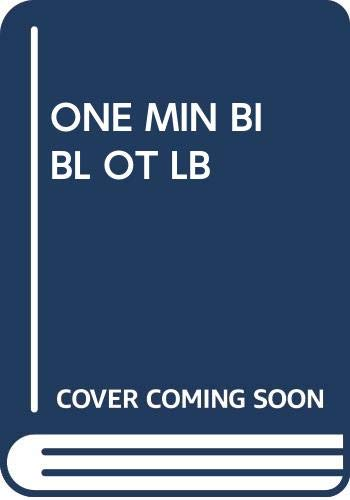 One Min Bibl Ot Lb (9780385195669) by Shari Lewis