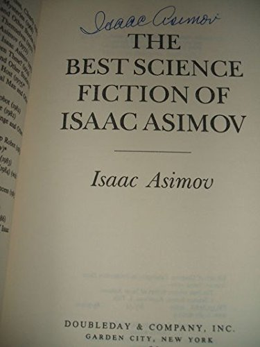 9780385197823: Best Science Fiction of Isaac Asimov