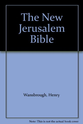 9780385230834: The New Jerusalem Bible