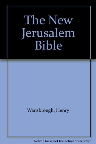 9780385230834: The New Jerusalem Bible