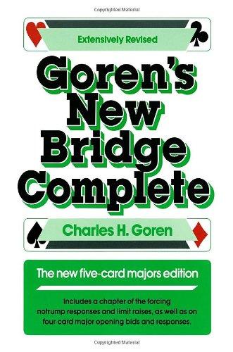 9780385233248: Goren's New Bridge Complete: The New Five-Card Majors Edition