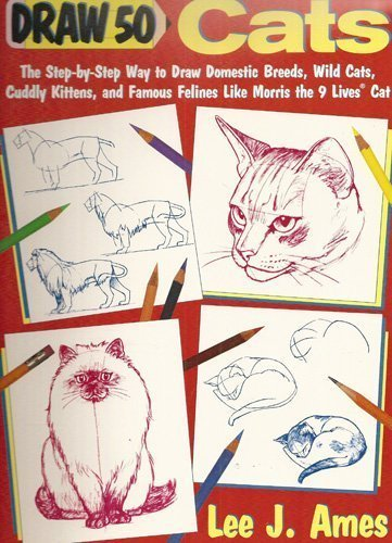 9780385234849: Draw 50 Cats