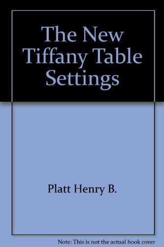 9780385239509: The New Tiffany Table Settings