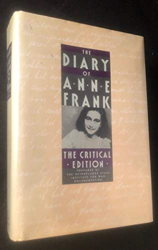 9780385240239: The Diary of Anne Frank: The Critical Edition