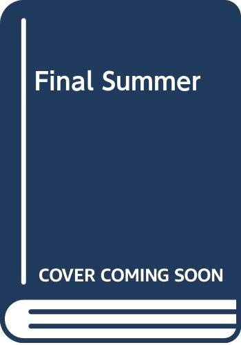 9780385240901: Final Summer