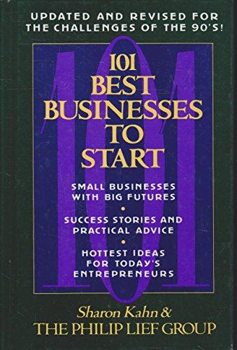 101 Best Businesses to Start: Sharon Kahn