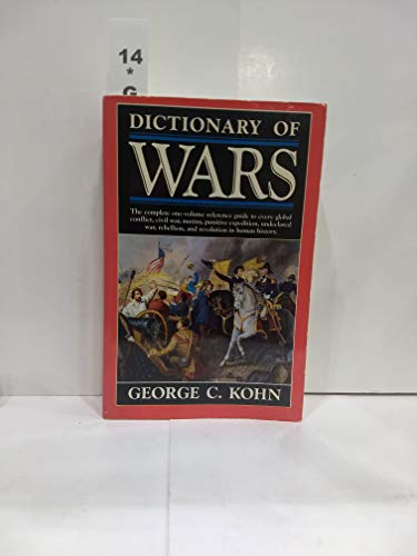9780385242073: Dictionary of Wars