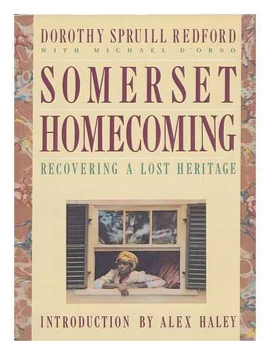 Somerset Homecoming : Recovering a Lost Heritage