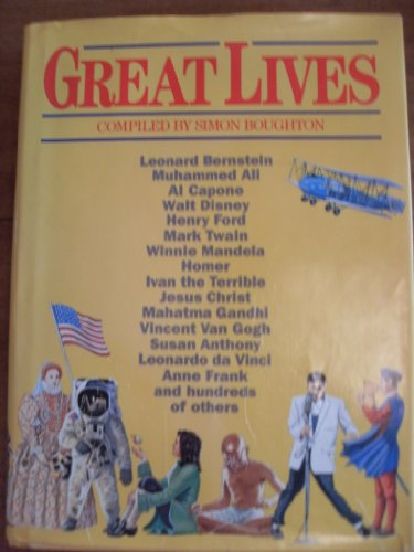9780385242837: Great Lives