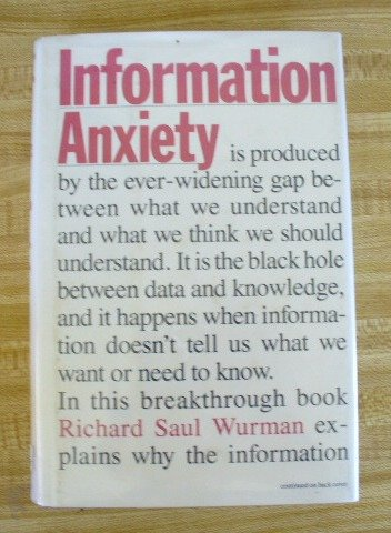 9780385243940: Information Anxiety