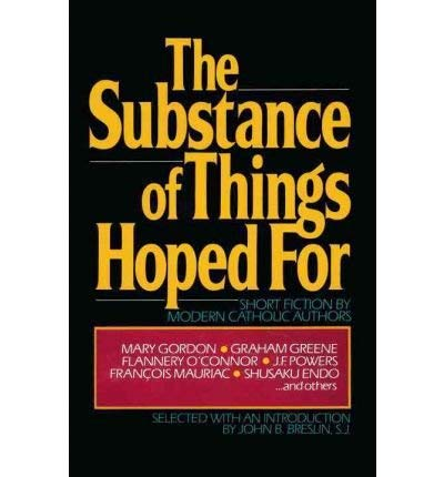 9780385246927: Substance of Things Hoped for