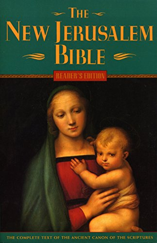 9780385248334: The New Jerusalem Bible, Reader's Edition (The Complete Text of the Ancient Canon of the Scriptures)