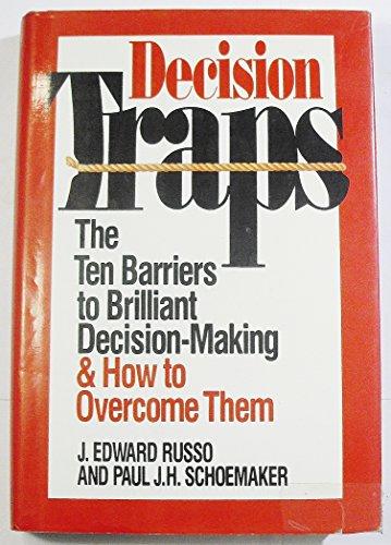 9780385248358: Decision Traps