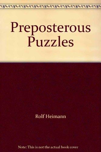 Preposterous Puzzles: Rolf, Heimann