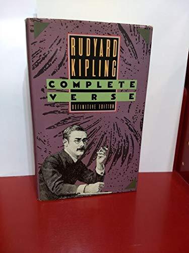 9780385260886: Rudyard Kipling - Complete Verse