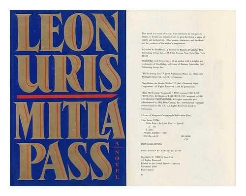 9780385261395: Mitla Pass / Leon Uris
