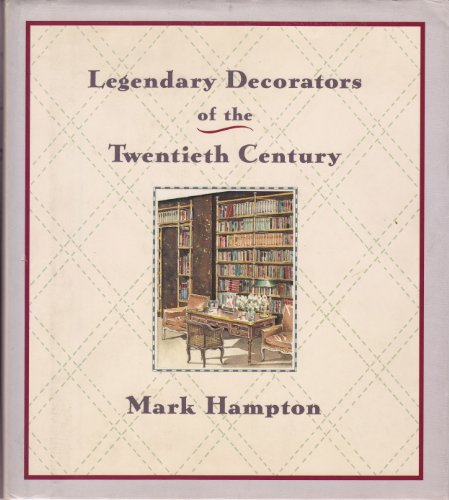 9780385263610: Legendary Decorators of the Twentieth Century
