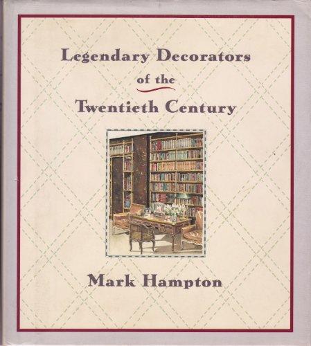 9780385263610: Legendary Decorators of the Twentieth Century