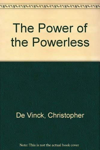 9780385263818: Power of Powerless