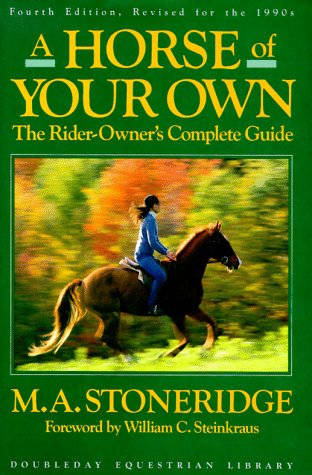 9780385263856: A Horse of Your Own