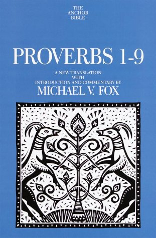 9780385264372: Proverbs 1-9 (Anchor Yale Bible)
