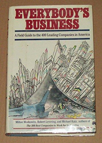 EVERYBODY'S BUSINESS: Levering, Robert