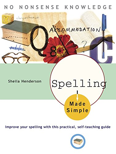 9780385266420: Spelling Made Simple: Improve Your Spelling with This Practical, Self-Teaching Guide