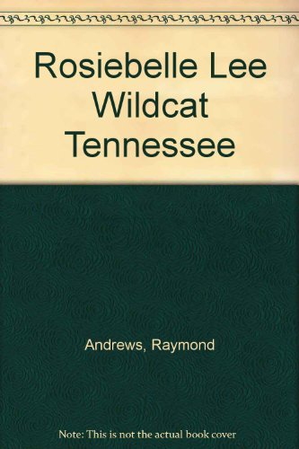 9780385271035: Rosiebelle Lee Wildcat Tennessee