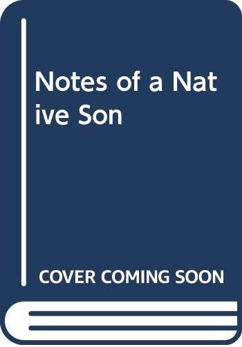 9780385273299: Notes of a Native Son