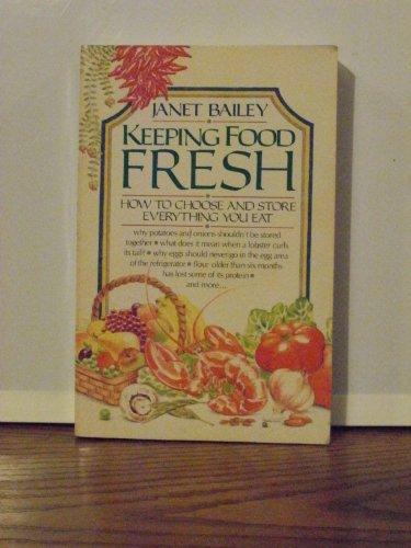 9780385276757: Keeping Food Fresh