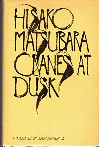 9780385278584: Cranes at Dusk