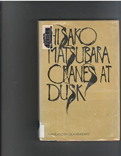 9780385278584: Cranes at Dusk (English and German Edition)