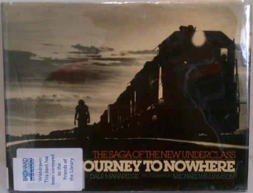 Journey to Nowhere: The Saga of the New Underclass: Maharidge, Dale;Williamson, Michael