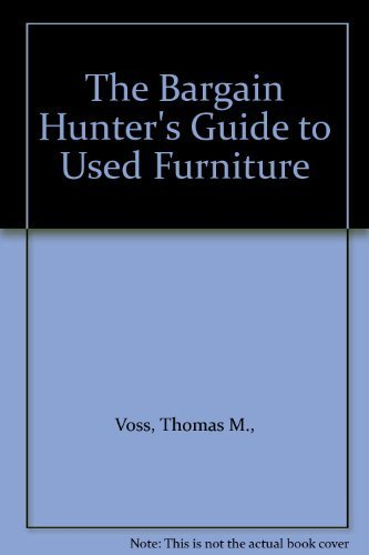 9780385280495: The Bargain Hunter's Guide to Used Furniture