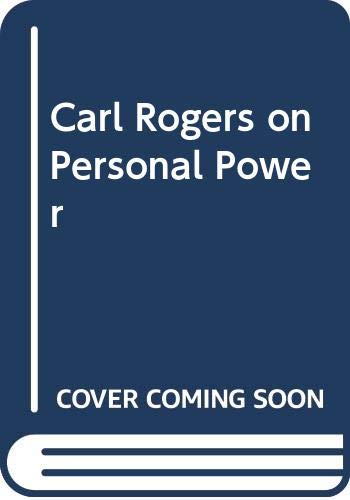 9780385281058: Carl Rogers on Personal Power