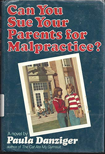 9780385281126: Can You Sue Parents