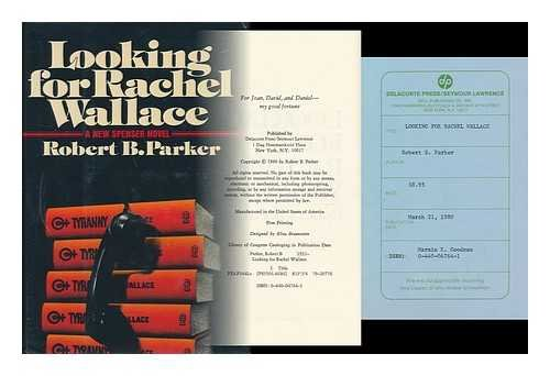 9780385285582: Looking for Rachel Wallace