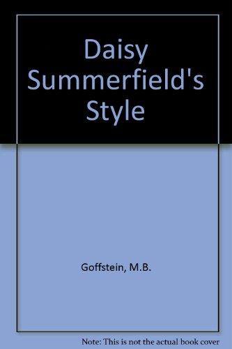 9780385286251: Daisy Summerfield's Style