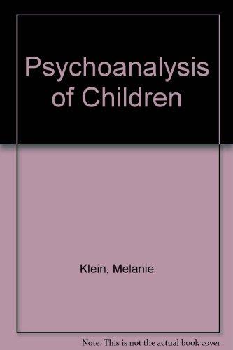 9780385288095: Psychoanalysis of Children