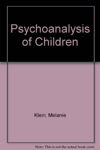 9780385288095: Psychoanalysis of Children