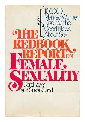 9780385288675: The Redbook Report on Female Sexuality: 100,000 Married Women Disclose the Good News About Sex