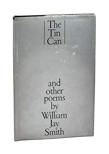 9780385290609: Tin Can and Other Poems