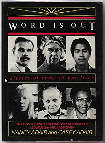 9780385291927: Word Is Out: Stories of Some of Our Lives