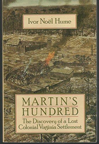 9780385292818: Martin's Hundred